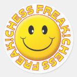 Chess Freak Smile Sticker