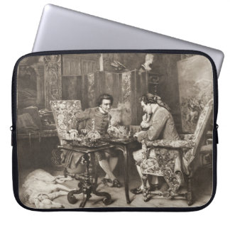 Chess Game 1898 Computer Sleeves