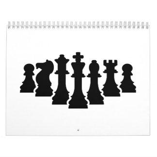 Chess game calendar