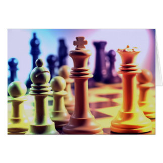 Chess Game Card