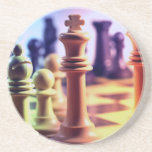 Chess Game Coasters
