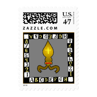 Chess Game Correspondence Postal Stamp STAMPS