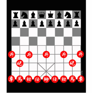 Chess game cutout