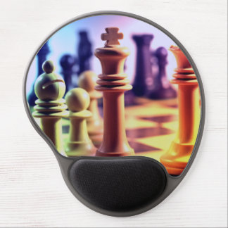 Chess Game Gel Mouse Pad