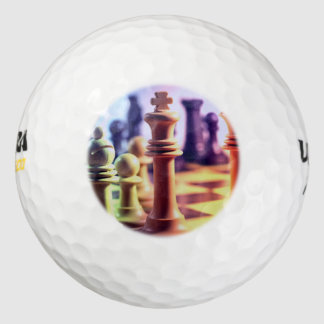 Chess Game Pack Of Golf Balls