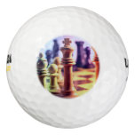 Chess Game Golf Balls