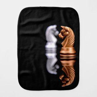 Chess Game Hobby Burp Cloth