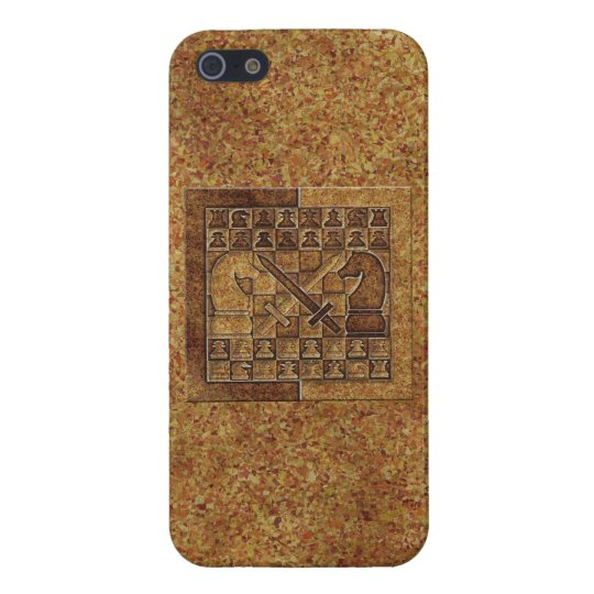 CHESS GAME IN STONE COVER FOR iPhone SE/5/5s