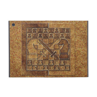 CHESS GAME IN STONE COVER FOR iPad MINI