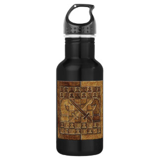 CHESS GAME IN STONE STAINLESS STEEL WATER BOTTLE