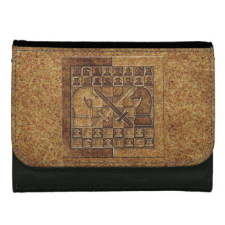 CHESS GAME IN STONE WALLET