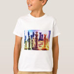 Chess Game Kid's T-Shirt