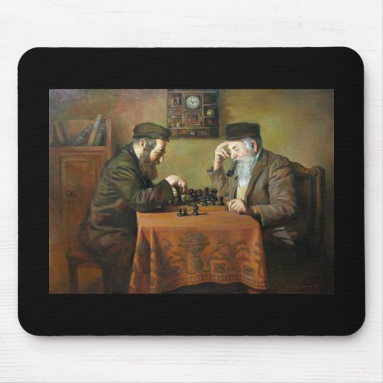 Chess Game Mouse Pad