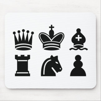 Chess game mousepads