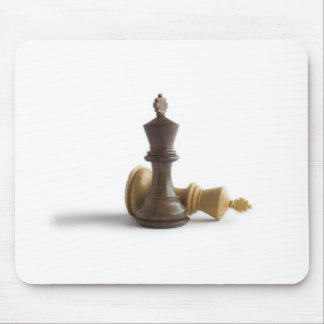 Chess Game Over Mouse Pads