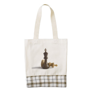 Chess Game Over Zazzle HEART Tote Bag