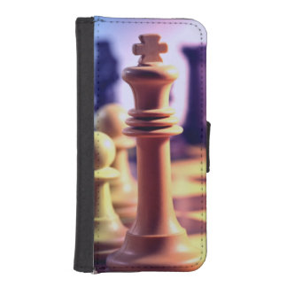 Chess Game iPhone 5 Wallet Case