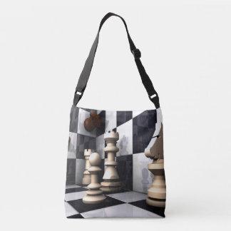 Chess Game Play Crossbody Bag