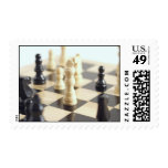 Chess Game Postage Stamp