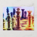 Chess Game Postcard