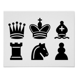 Chess game posters