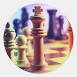 Chess Game Sticker