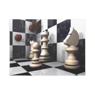 Chess Game Style Doormat