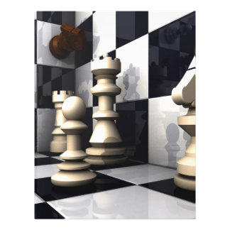 Chess Game Style Flyer