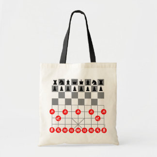 Chess games tote bag