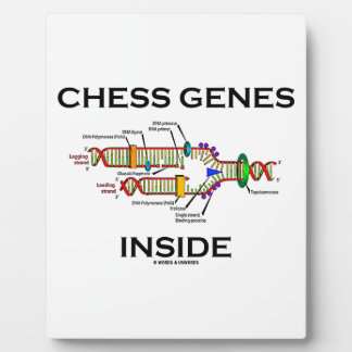 Chess Genes Inside (DNA Replication) Plaque