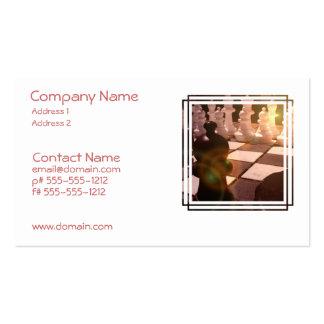 Chess Grandmaster Business Card