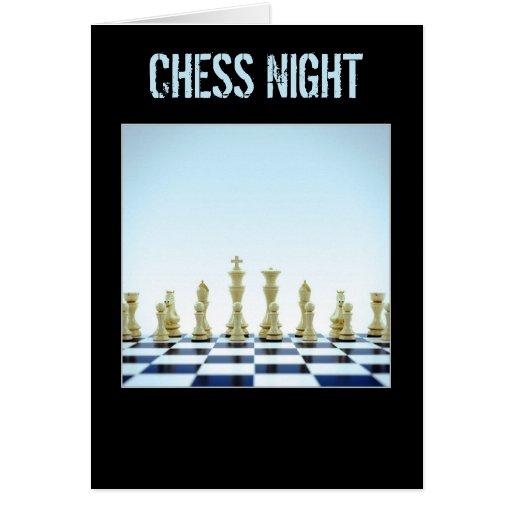 Chess - Greeting Card - Invitation