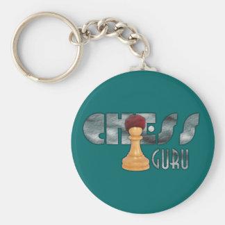 Chess Guru Keychain