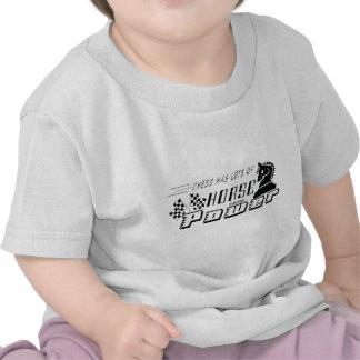 Chess Has Horse Power, Chess T-Shirt
