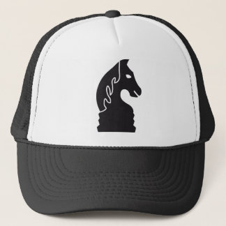 chess horse trucker hat