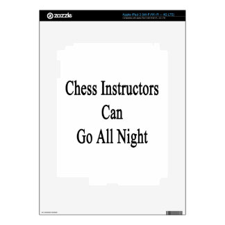 Chess Instructors Can Go All Night. Skins For iPad 3