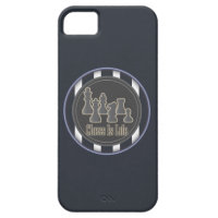 Chess is Life Blue iPhone 5 Covers