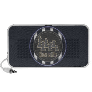 Chess is Life Blue Mp3 Speakers