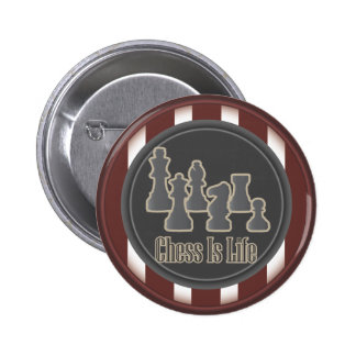 Chess is Life Red Button