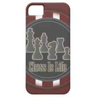 Chess is Life Red iPhone 5 Cover
