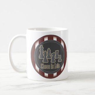 Chess is Life Red Mugs