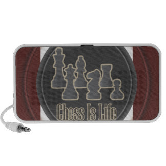Chess is Life Red Mp3 Speaker