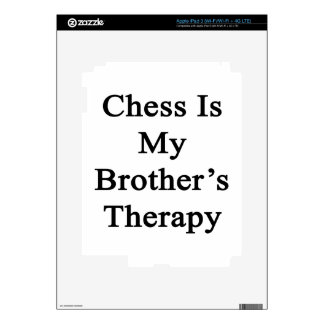 Chess Is My Brother's Therapy iPad 3 Skins