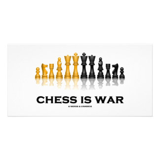 Chess Is War (Chess Attitude) Photo Cards