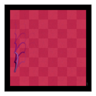 Chess Journeys, Compared (a-Pawn, Purple) Poster