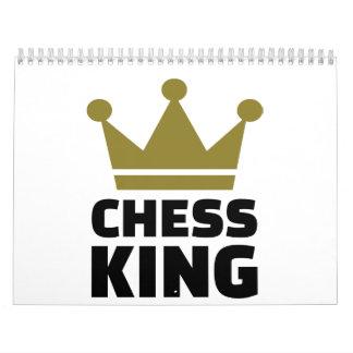 Chess king champion calendar