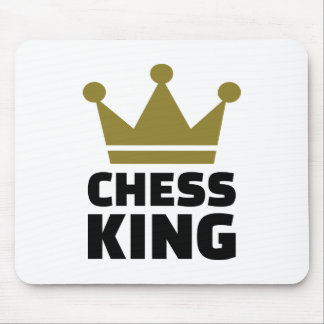 Chess king champion mouse pads