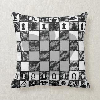 Chess King K Throw Pillow