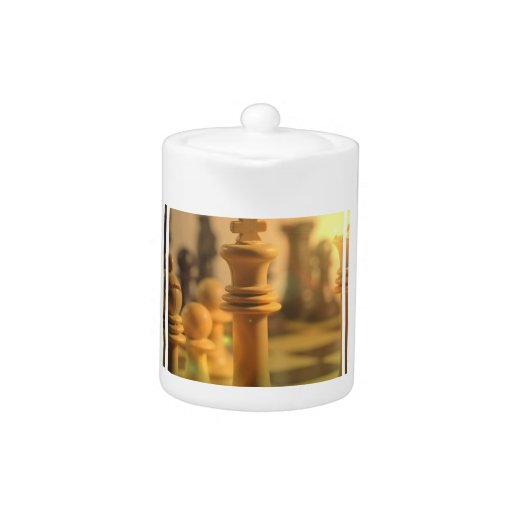 Chess King  Teapot