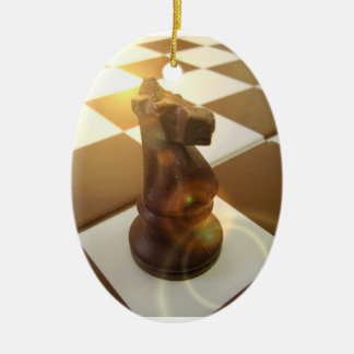 Chess Knight Ornament